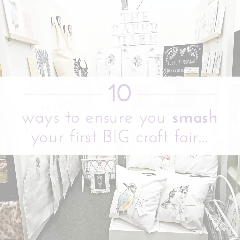 ohnorachio & the paper hare: 10 ways to smash your first big craft fair