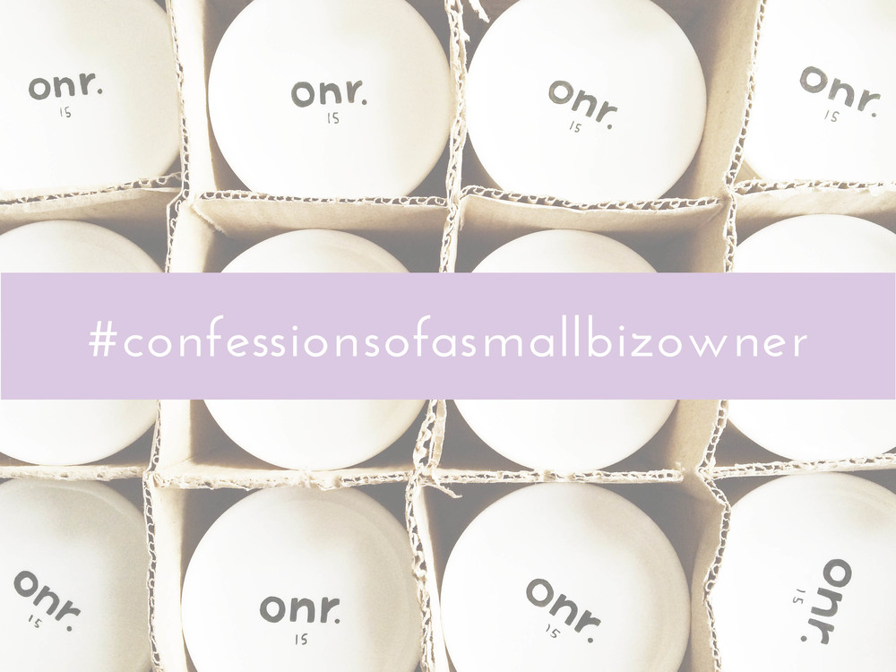 ohnorachio // confessions of a small business owner #1