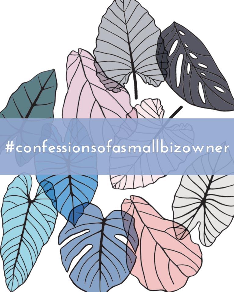 #confessionsofasmallbizowner creative mojo // ohnorachio