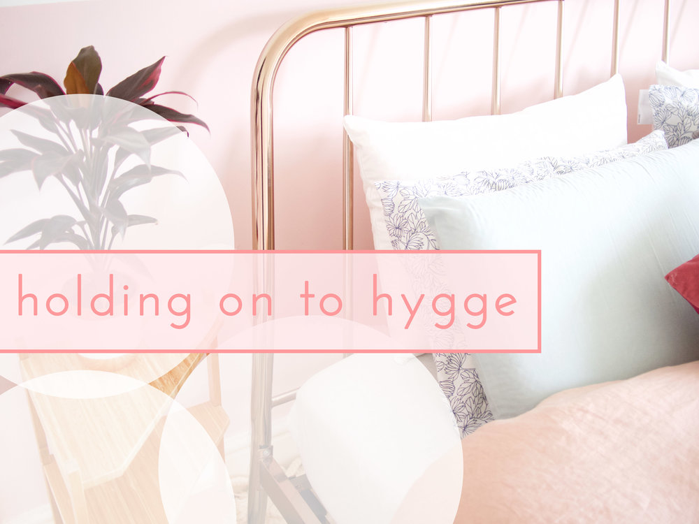 onrshop // holding on to hygge
