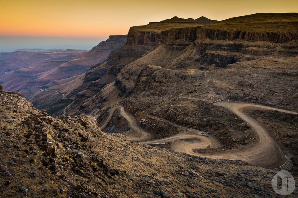 SANI PASS, SOUTH AFRICA-LESOTHO BORDER