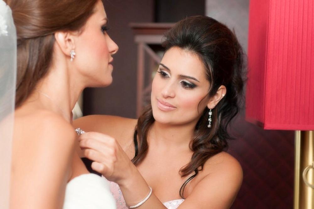 Tymia Yvette | Hotel Monaco Wedding |Baltimore Bridal Makeup