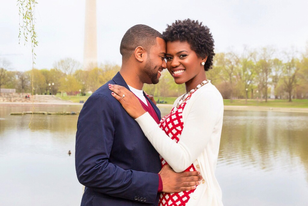 Tymia Yvette | DC Engagement Photoshoot | DC Makeup Artist