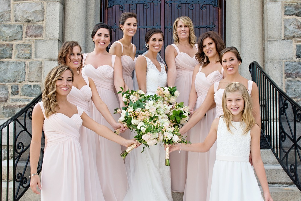 Bridal Party Makeup | Pennsylvania Makeup Artist | Tymia Yvette