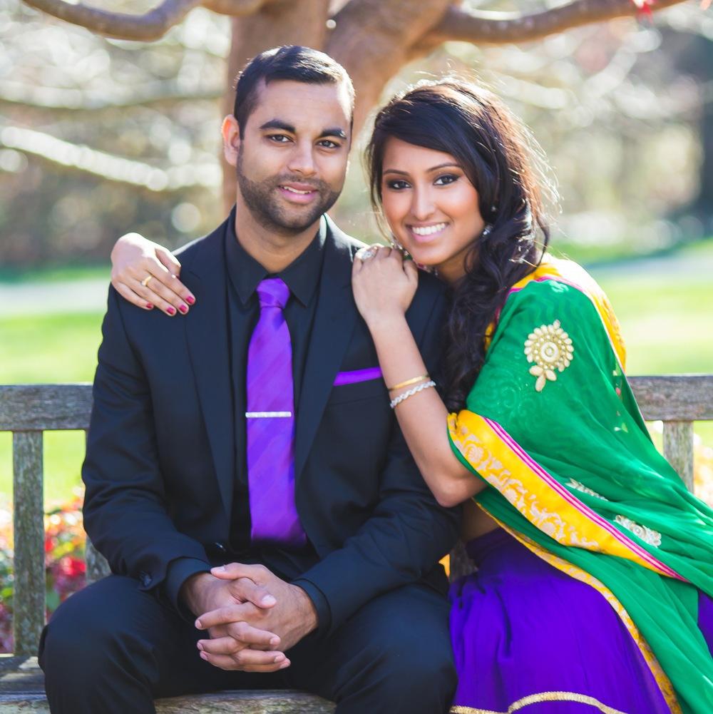 Engagement Photos | Tymia Yvette Makeup Artist | Maryland