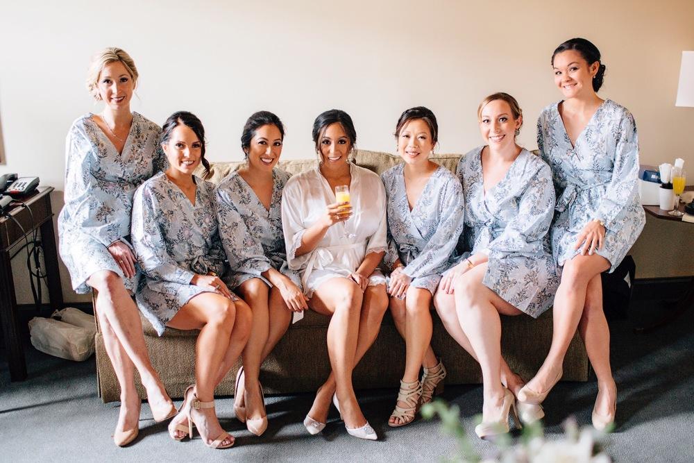W & Bridal Party | Tymia Yvette | Baltimore's Top Makeup Artist