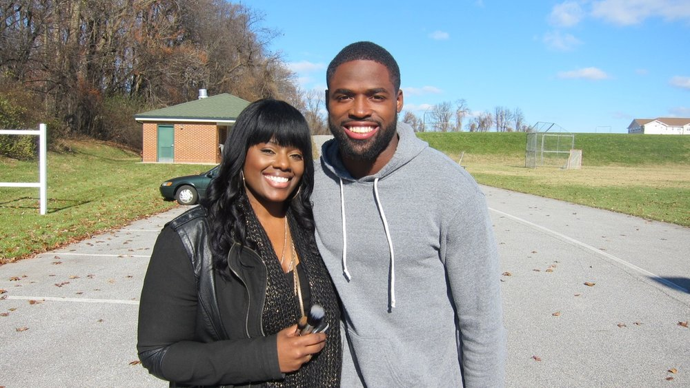 Torrey Smith NFL Player | Baltimore Ravens | Tymia Yvette Behind The Scenes