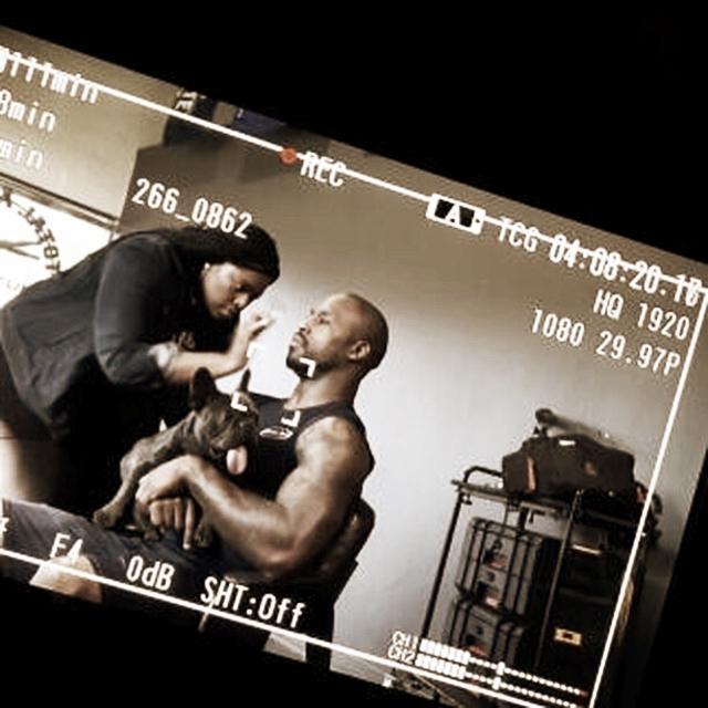 Behind The Scenes | NFL Redskins Vernon Davis | Tymia Yvette