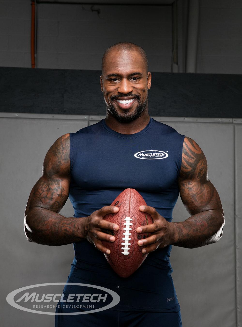 NFL Vernon Davis | Muscletech Photoshoot | Tymia Yvette