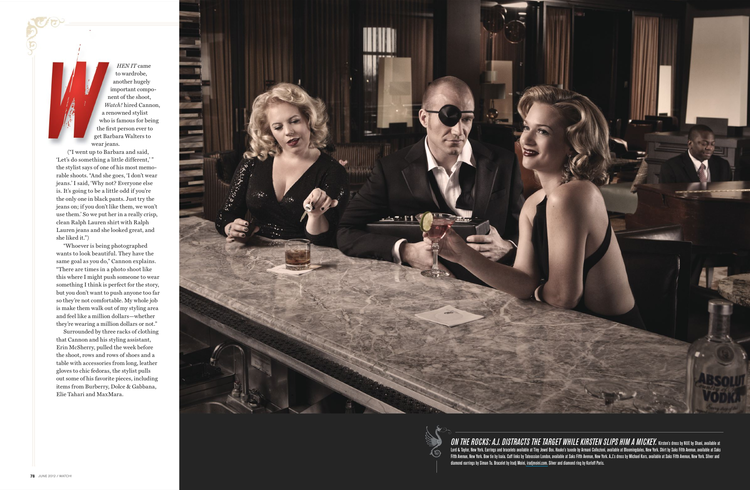 Criminal Minds Photoshoot | Kirsten Vangsness & A. J. Cook | Tymia Yvette