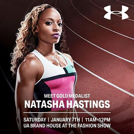Natasha Hastings | Olympic & World Runner Medalist | Tymia Yvette