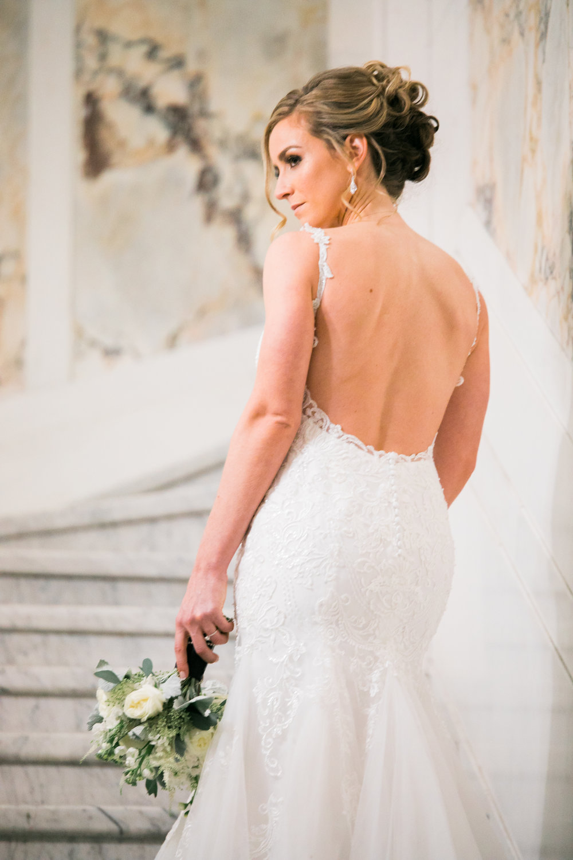 Faustin and yvette wedding dress