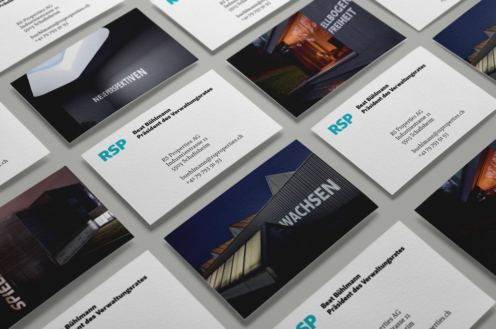 RS Properties Branding