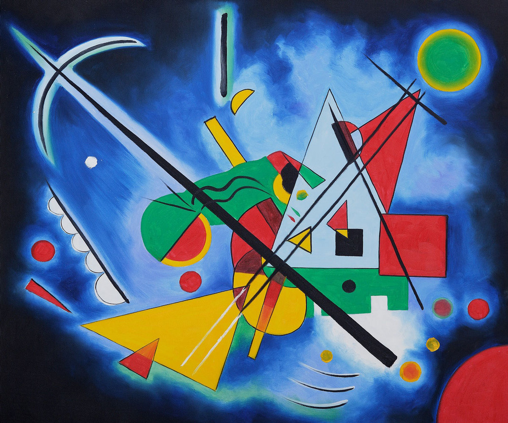 Wassily Kandinsky, Blue Painting