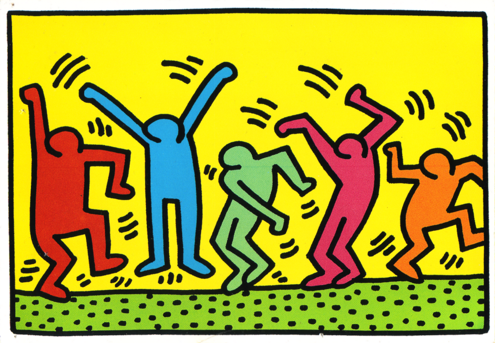 Keith Haring - Political Lane