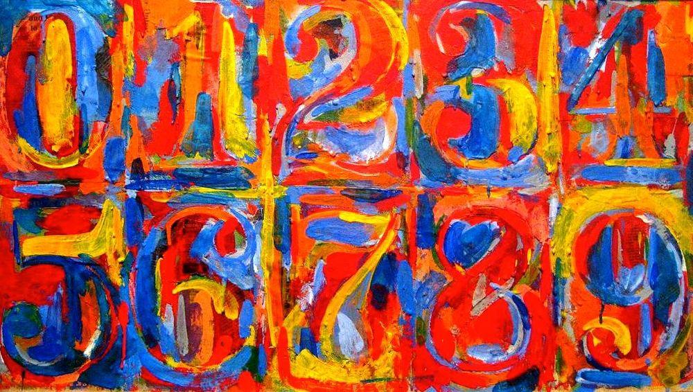 Jasper Johns 0-9