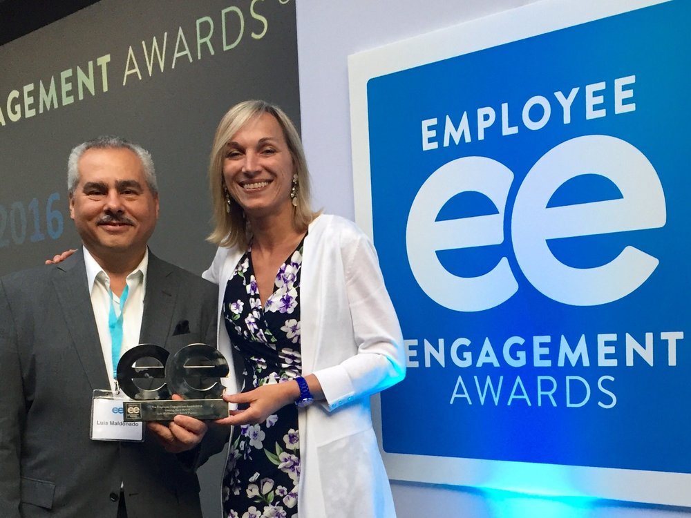 Luis Madonado,  2016 Employee Engagement Awards