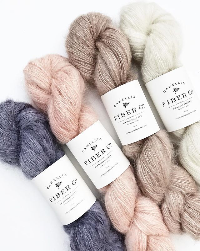 Introducing our newest yarn, CFC Mohair + Silk! This single-ply, lace weight yarn is comprised of the softest kid mohair and silk blend...you may mistake it for cotton candy 🍡 . And for those of you who aren't lace knitters (🙋🏻‍♀️), our favorite way to use it is to hold a strand with our merino while knitting for a subtle wisp of texture ✨ P.S. Newsletter subscribers, look for a discount code in today's newsletter for 15% off everything in the shop from now until Mother's Day! 💕