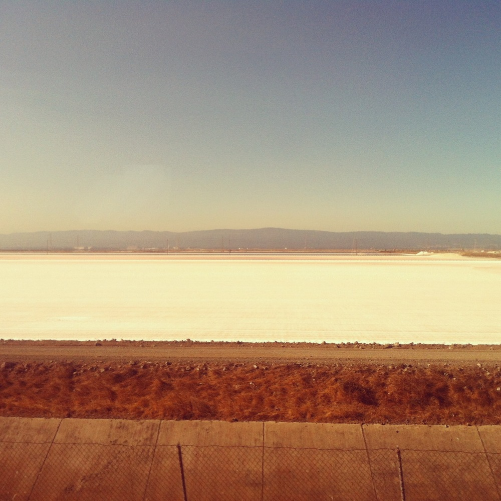 Salt Flats, Central California