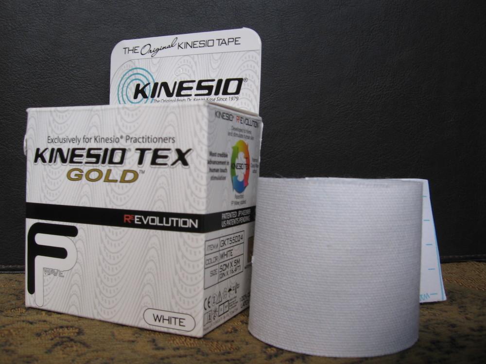 Kinesio Tex Gold kinesio tape.
