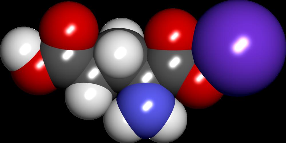 Monosodium Glutamate molecule.