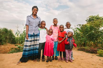 My Rwanda Children Family