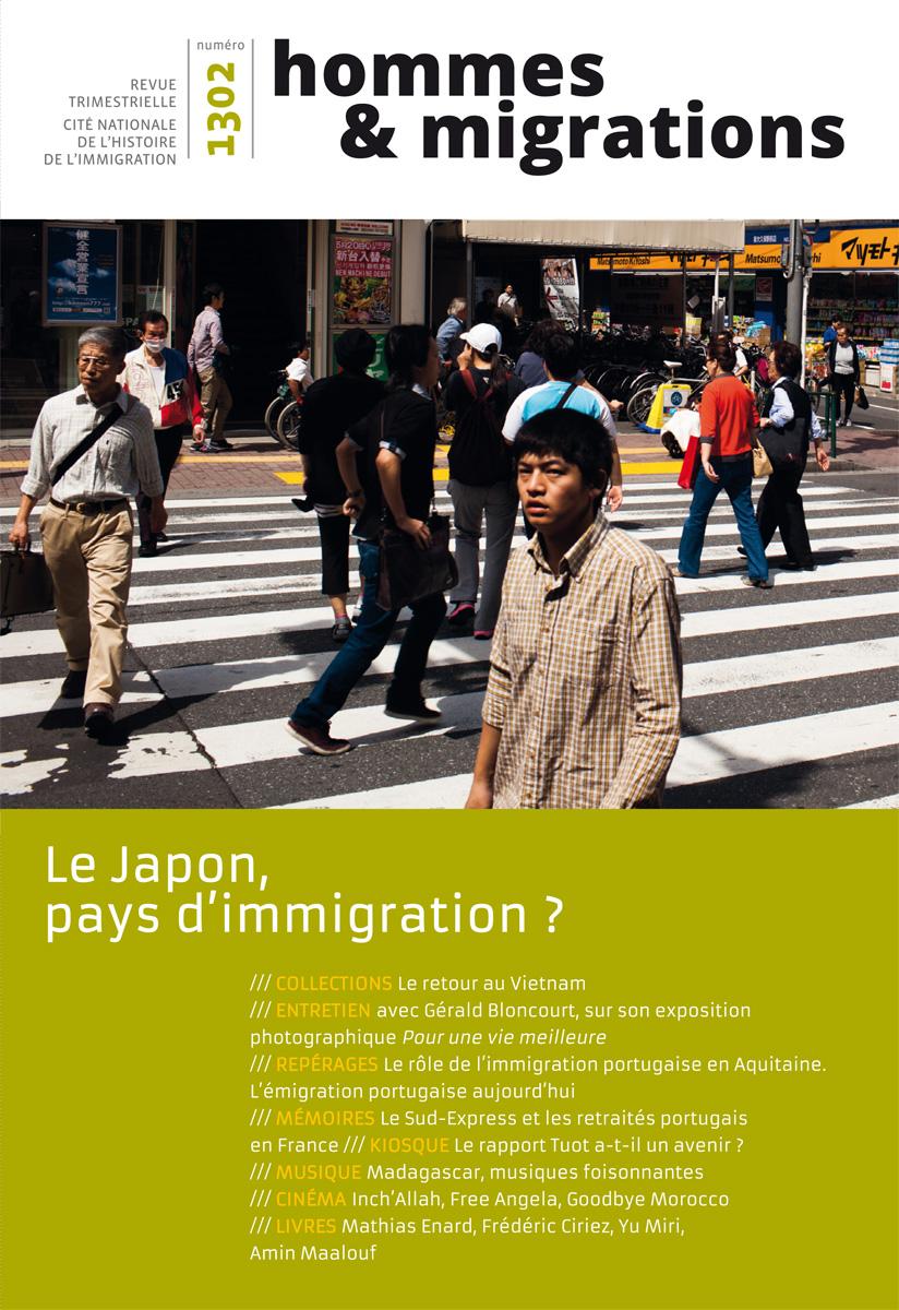 Couverture Hommes et Migrations N° 1302 / Août 2013