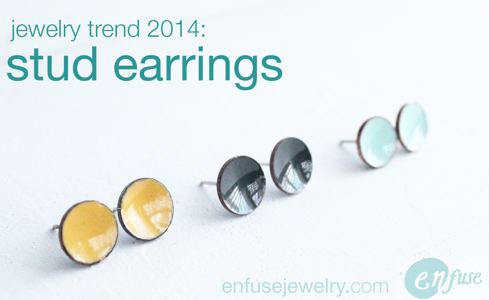 Stud Earrings are more than a trend, they're timeless.