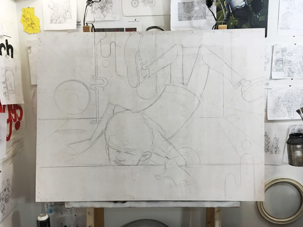 "After a few years of posting daily progress updates of whatever it is I'm doing my favorite by far is the short but precise ""Working."""