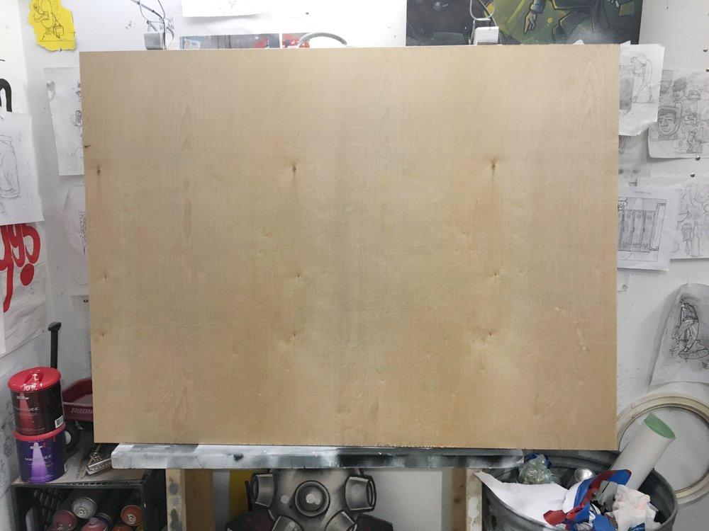 New start. Blank slate. Fresh wood.