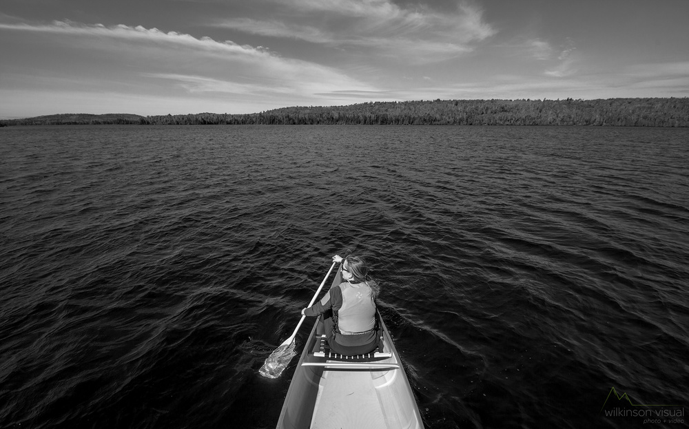 June 2015. Boundary Waters Canoe Area Wilderness, Northern Minnesota.