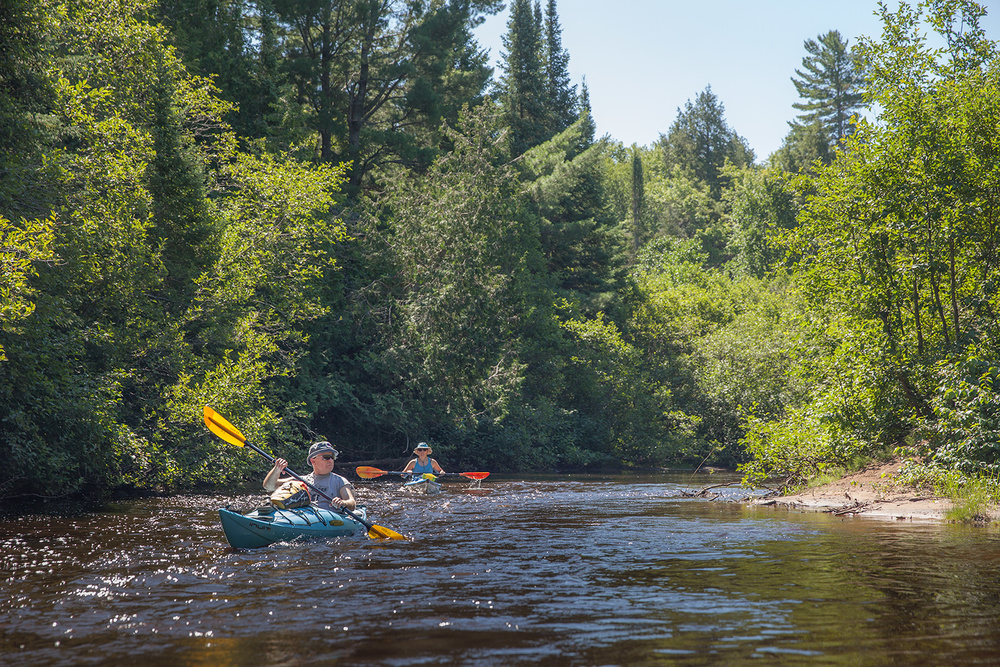 the healing power of water kayaking the two hearted river and lake superior and the healing