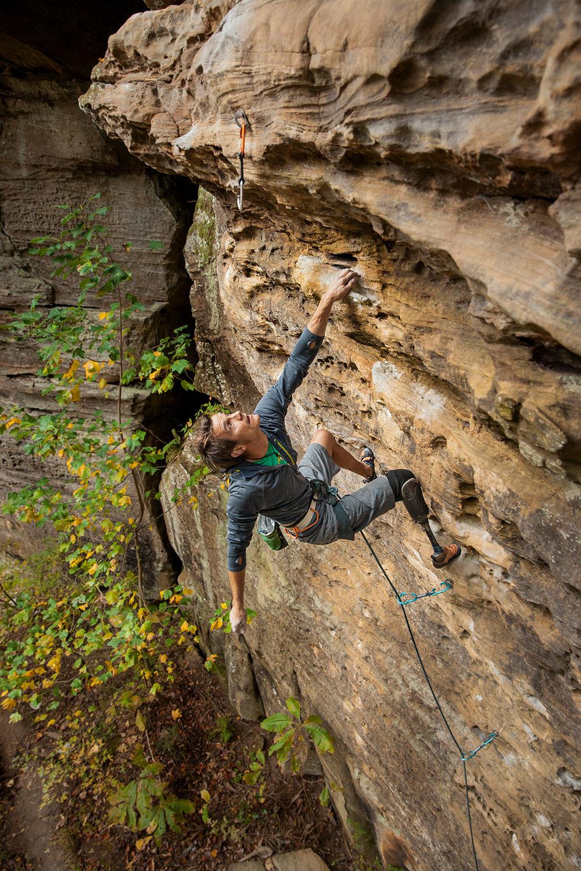 """Poopie Head""  Climber: Craig DeMartino"