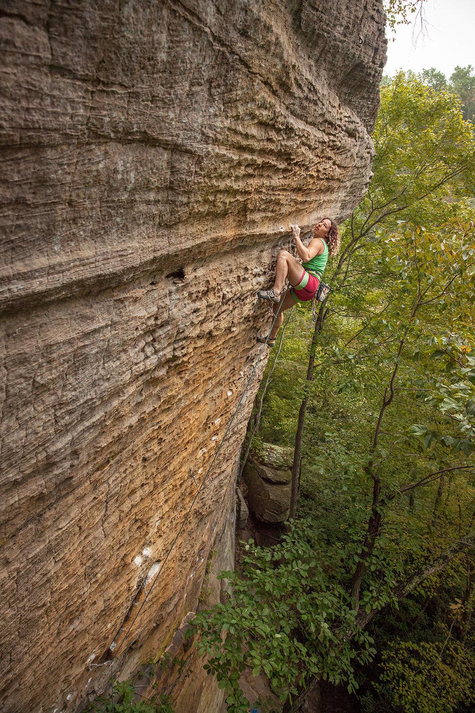 """""""72 Hour Energy""""  Climber: Rachel Avallone"""