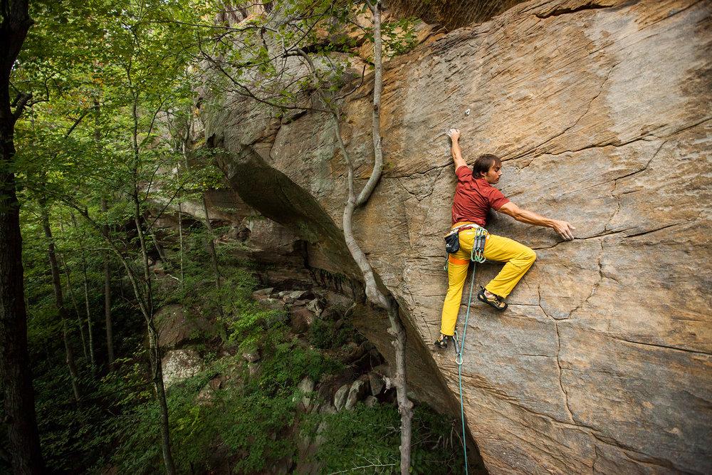 """""""Pinkalicious""""  Climber: Karsten Delap"""