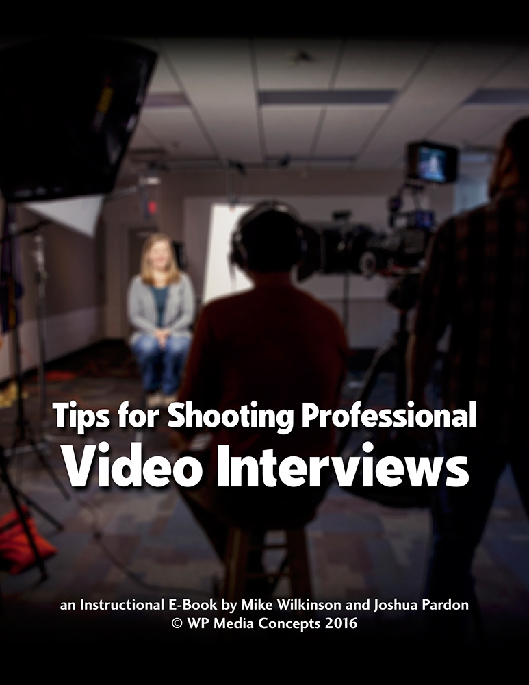 Did you know? - Together with Video Producer Joshua Pardon, we literally wrote the book on producing interviews. These techniques work for documentary films, corporate, or even training videos. Our documentary films rely heavily on these methods.