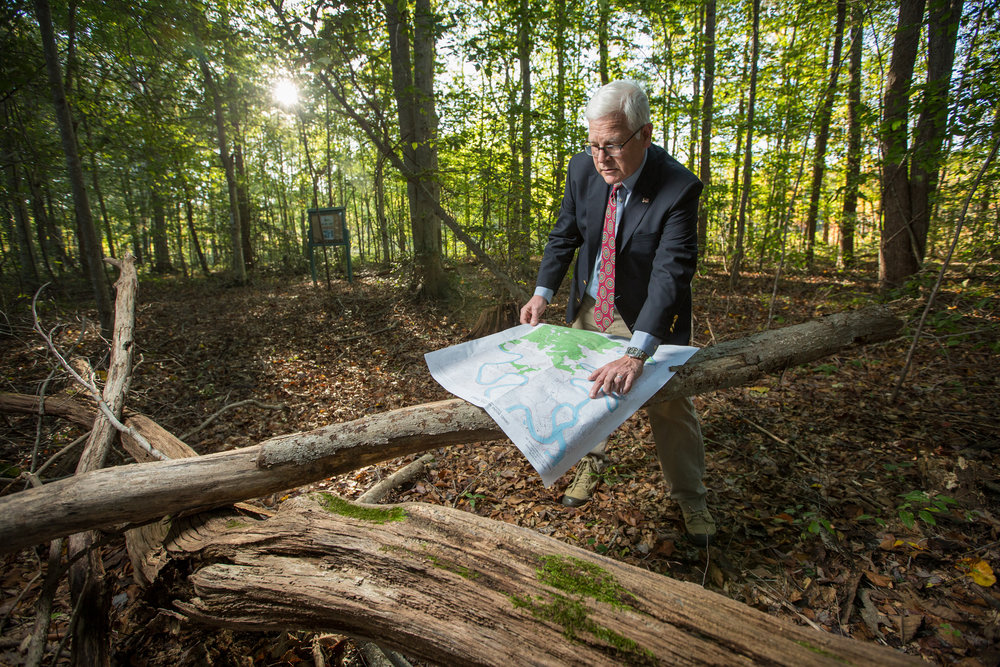 Attorney Bruce Orwin tackles legal challenges for Kentucky Chapter of the Nature Conservancy.