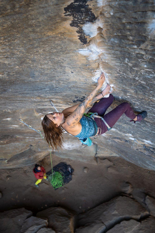 """Ascentuality""  Climber: Heath Rowland"