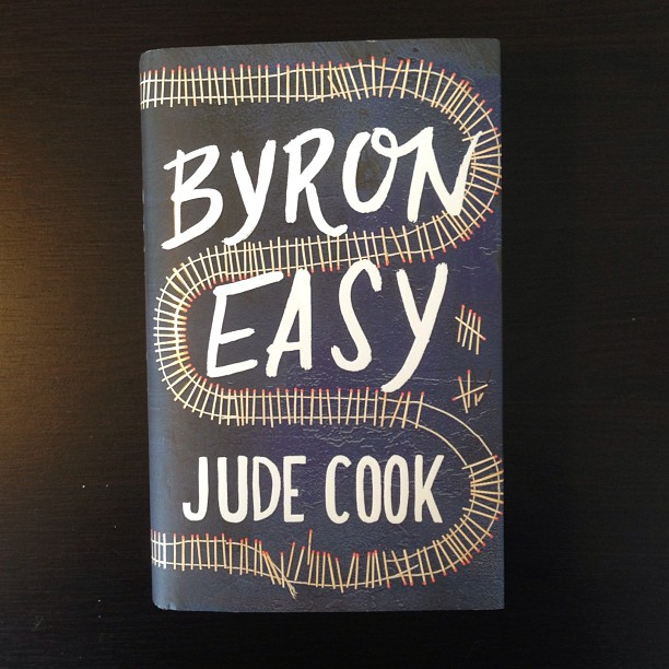 Hardback 'Byron Easy' with cover illustrated by Joel Holland. Thanks! @randomhouse