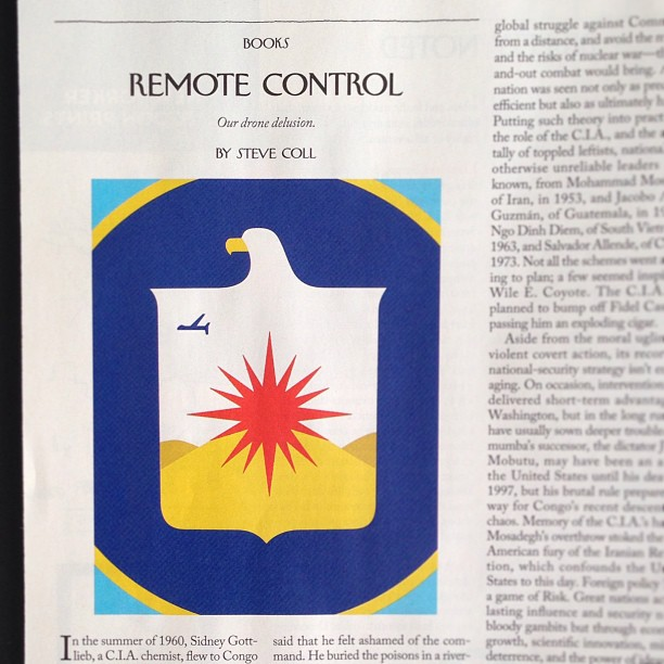 Noma Bar | #illustration in The New Yorker #drones