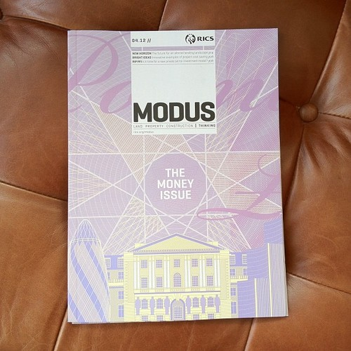 New Modus cover illustrated by Stuart Daly for Sunday Publishing