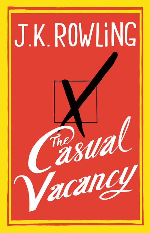 Joel Holland - The Casual Vacancy by J.K Rowling Tuesday ended with a great bit of news that Joel Holland has illustrated the cover for J.K Rowling's new book The Casual Vacancy, as the artwork was finally revealed yesterday morning ahead of its September release. The highly anticipated new release from the celebrated author of the Harry Potter series has been kept highly under wraps, with many criticising the cover for not letting on enough about the novels plot (apparently having not read the blurb). But with the hype machine gearing into motion as September 27th approaches, only time will reveal any further details. Designed by Mario J. Pulice with Little, Brown Book Group - www.dutchuncle.co.uk/Joel-Holland www.littlebrown.co.uk/TheCasualVacancy http://www.jkrowling.com/en_GB/