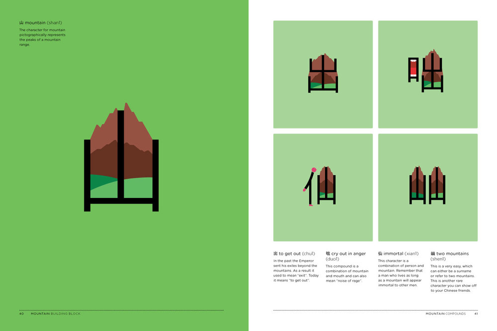 Chineasy Book - Mountain