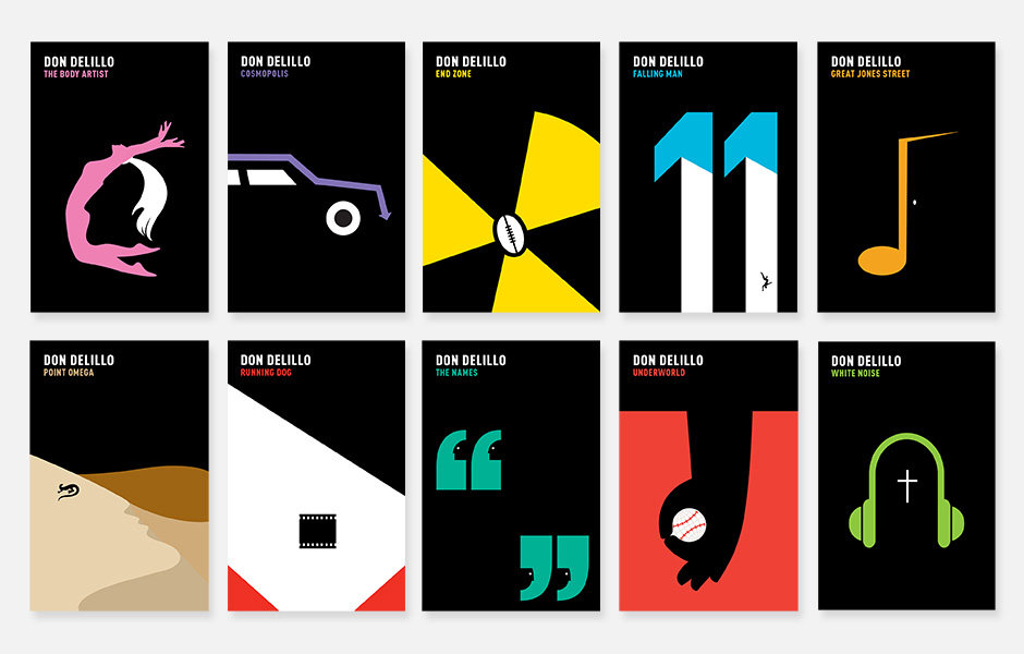 Book Covers by Noma Bar