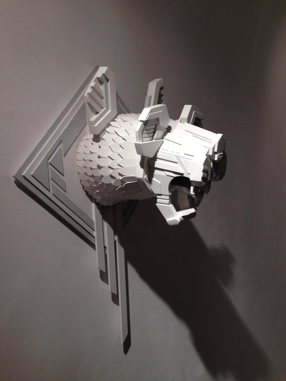 Tadaomi Shibuya x AJ Fosik - Beast artwork