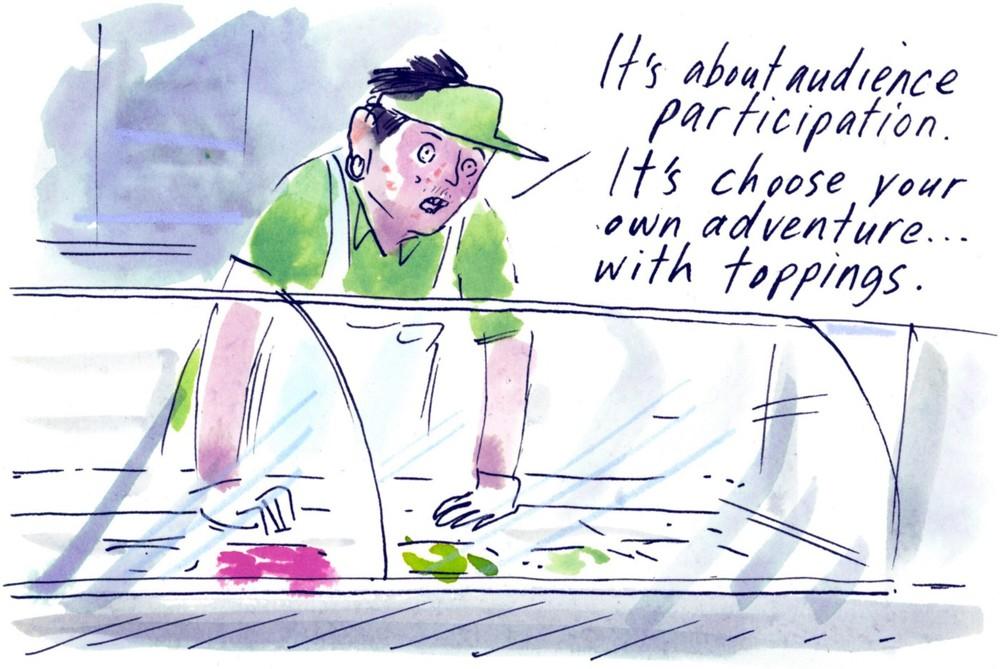 Hank Jenkins Subway Sandwich Artist