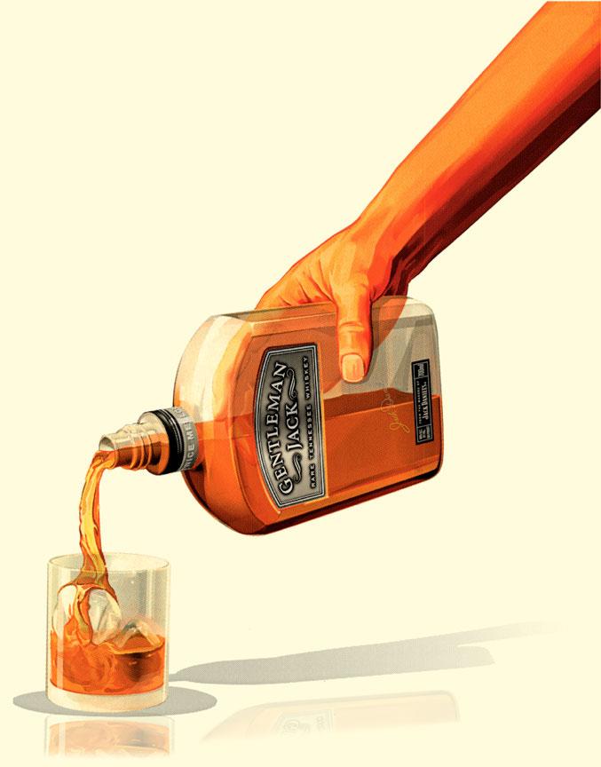 Gentleman Jack - Pour