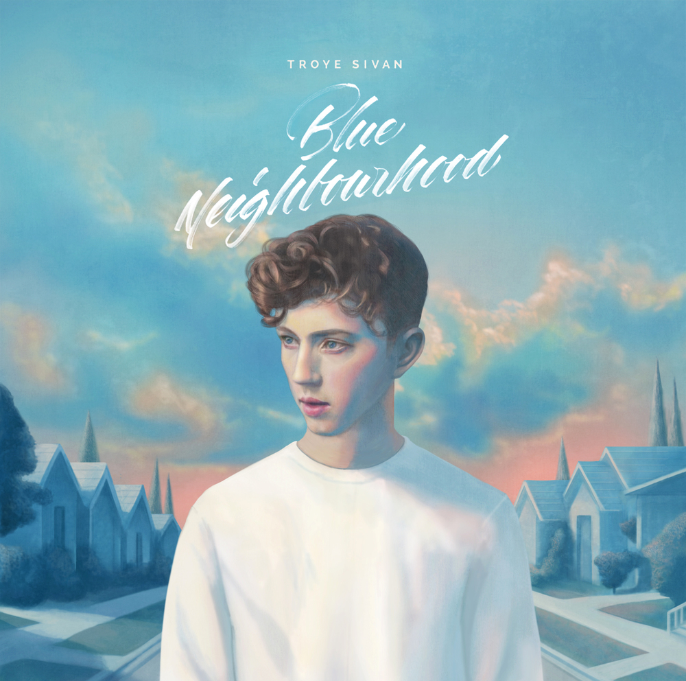 'Blue Neighbourhood' Artwork