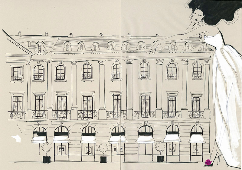 Yoco Nagamiya - favourite things - Place Vendome