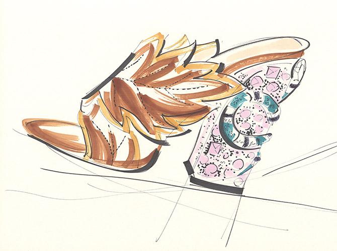 Yoco Nagamiya - Gucci snake mules 3
